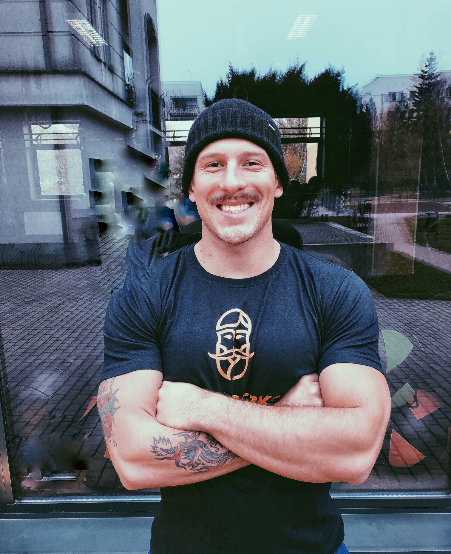 Maciej Wierzbowski - Coach Miasteczko CrossFit Warszawa Wilanów