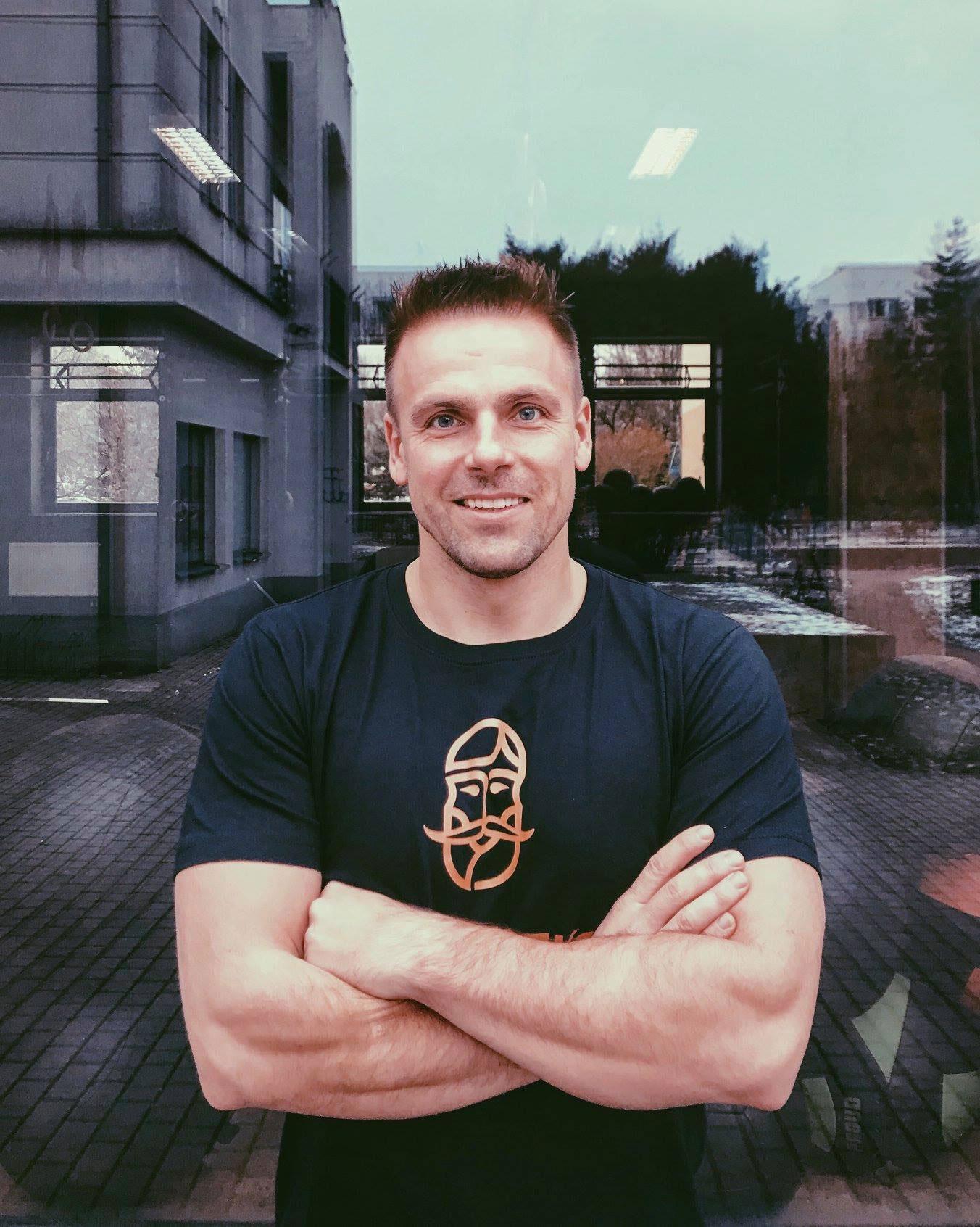Rafał Wojdat - Coach Miasteczko CrossFit Warszawa Wilanów